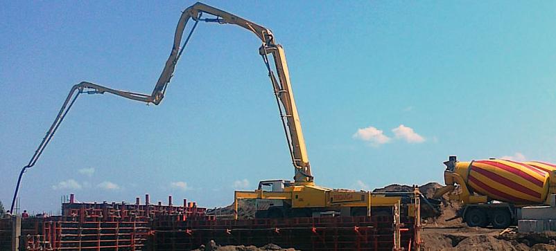 pramoninis betonavimas